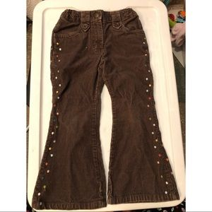 Vintage Gymboree Brown Corduroy Pants Girls 3T